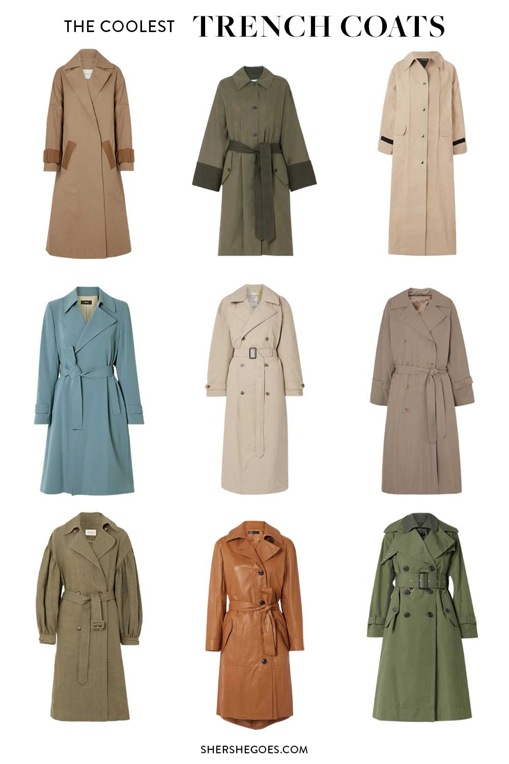 best-trench-coats