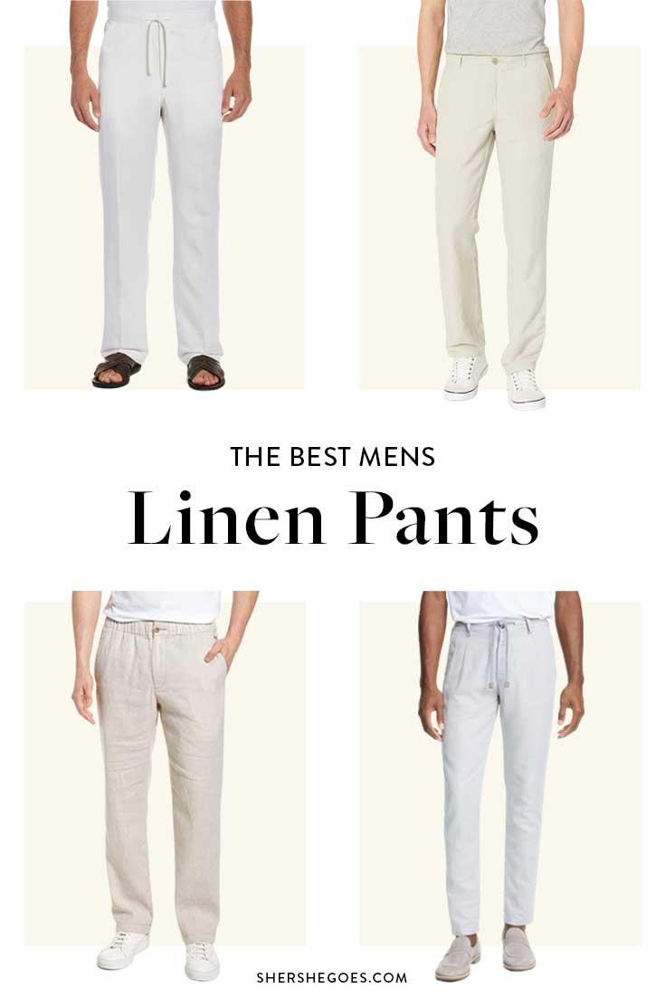best-white-linen-pants-for-men
