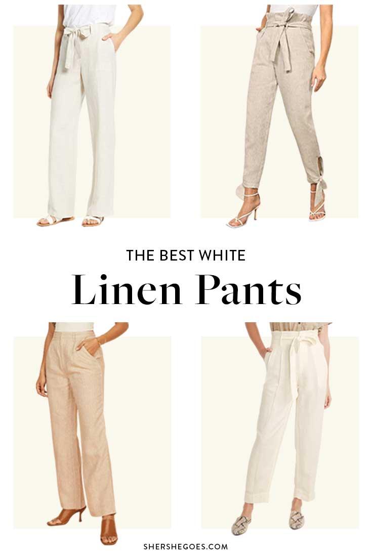 best-white-linen-pants