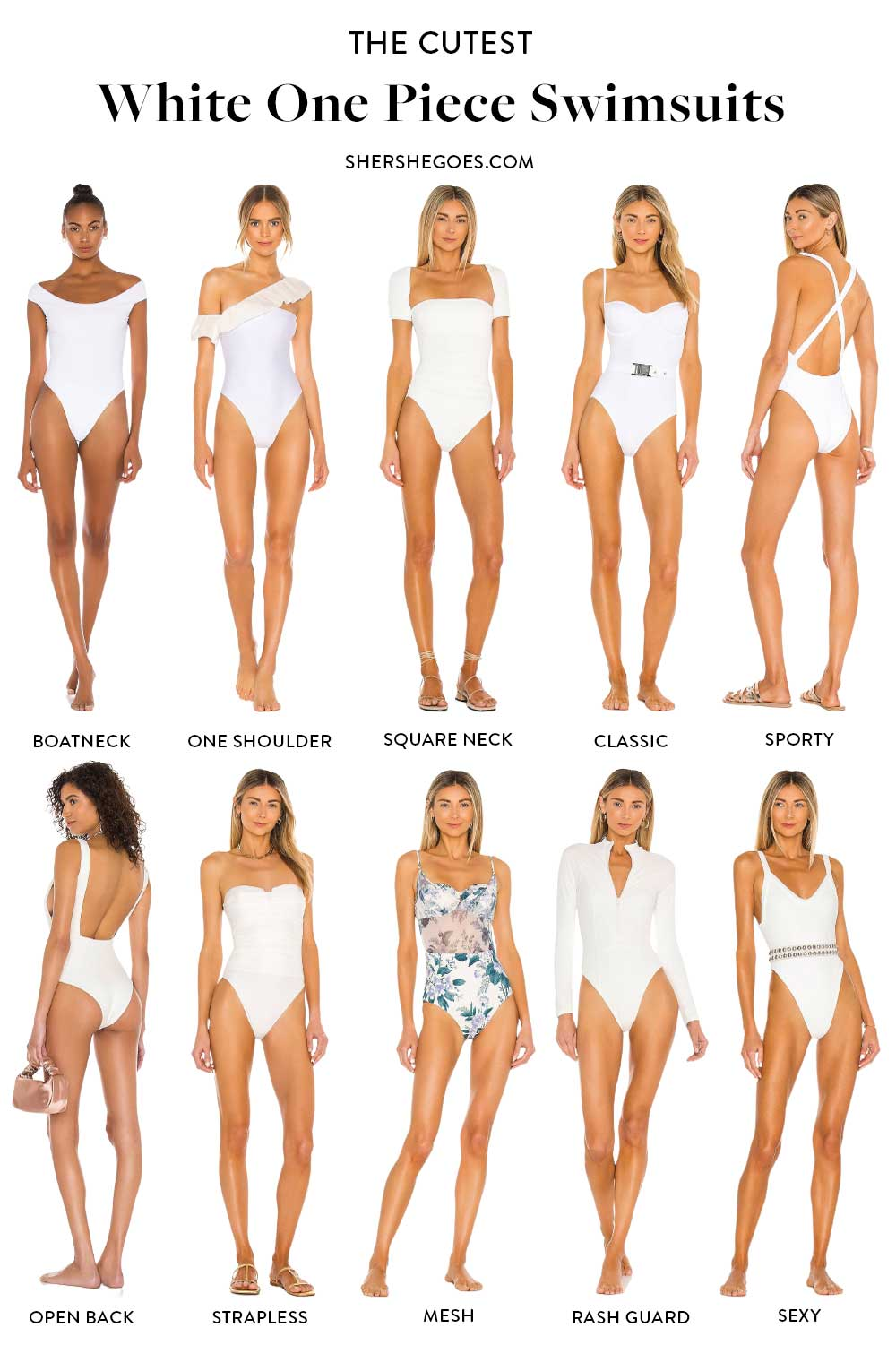 best-white-one-piece-swimsuits