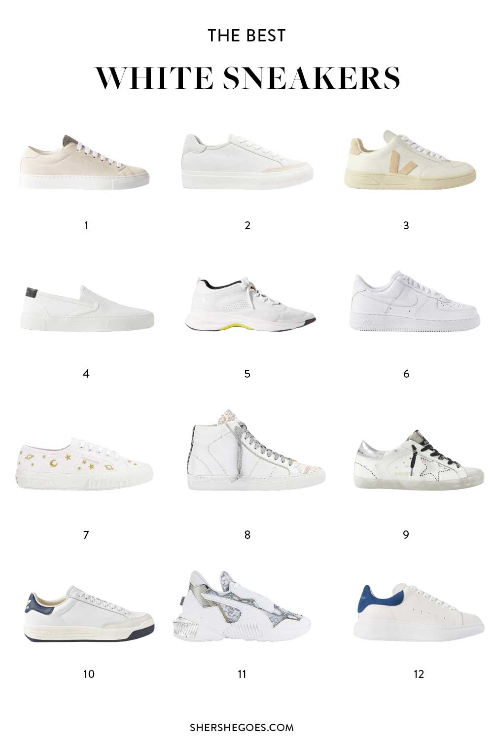 best-white-sneakers
