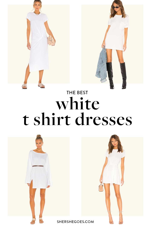 best-white-t-shirt-dress