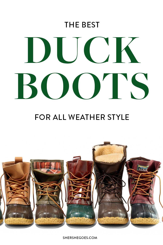 best-womens-duck-boots