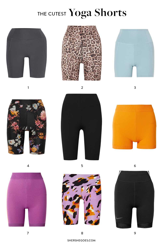 best yoga shorts for women