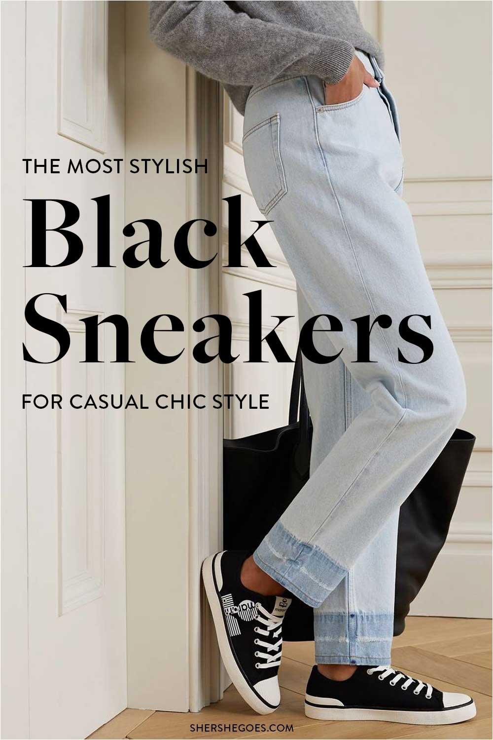 black-sneakers-for-women