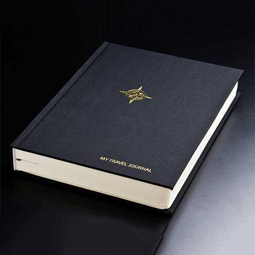 black-travel-journal-scrapbook