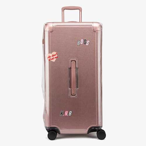 calpak zipperless aluminum luggage