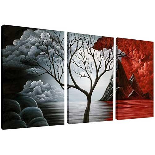 canvas wall art amazon