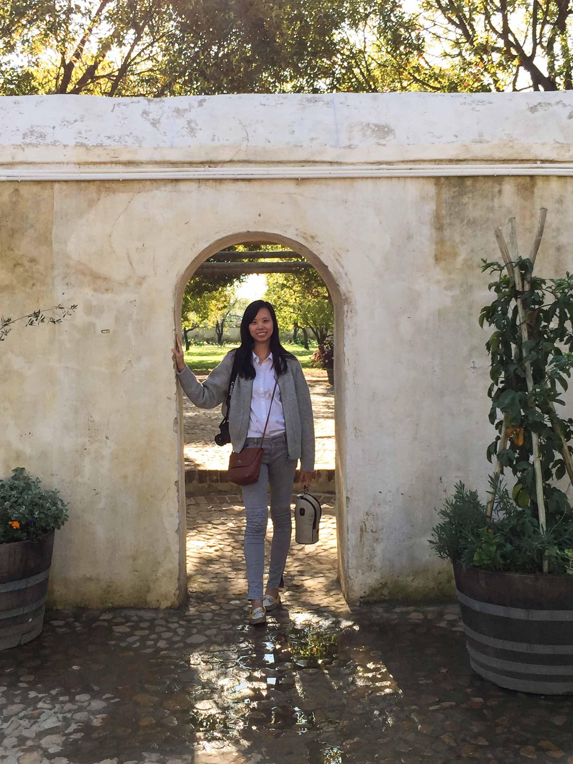 cape town travel guide wine tasting cape town winelands travel blog sher she goes shershegoes.com Boschendal Franschhoek Winery