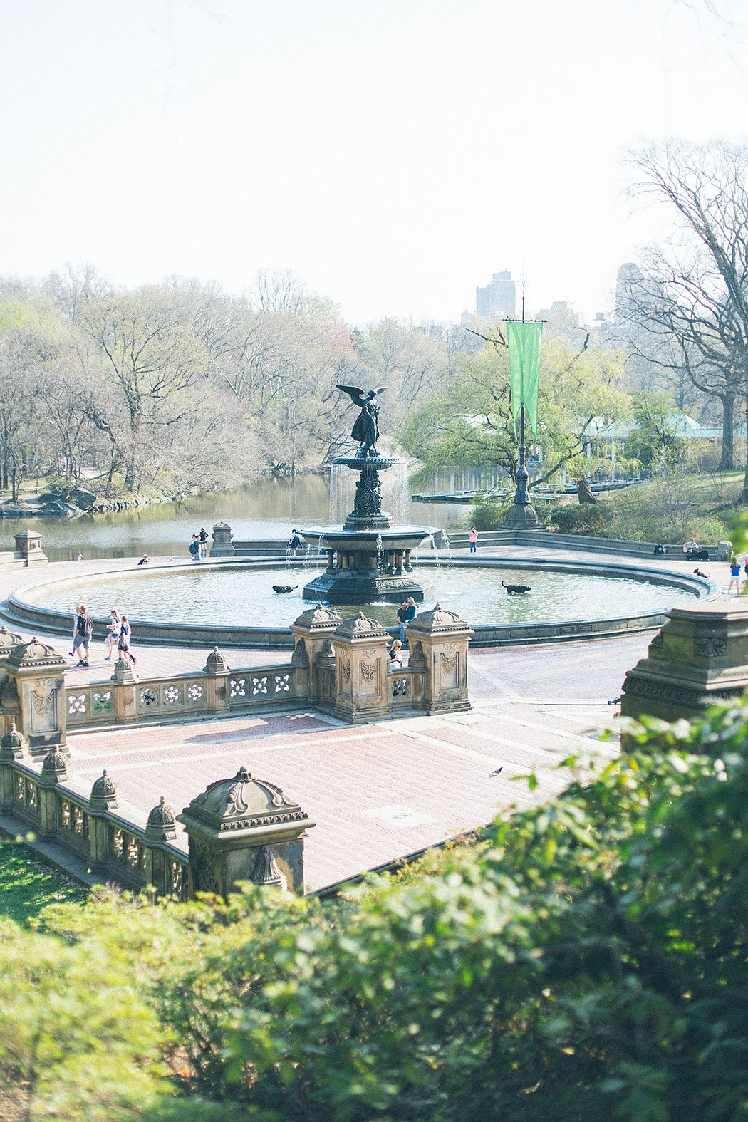 new york city central park bethesda terrace water fountain