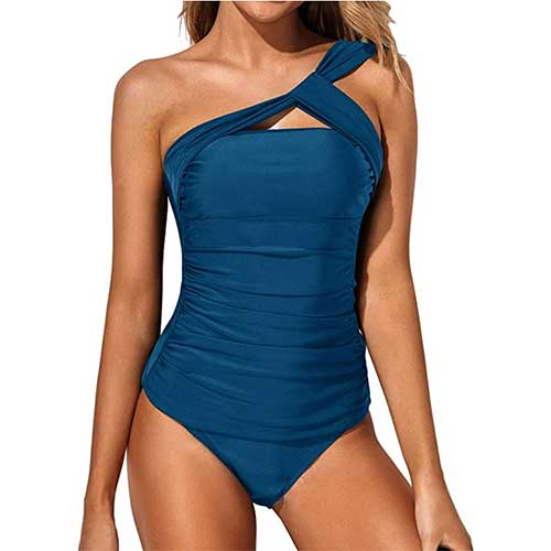 cheap-one-shoulder-one-piece-bathing-suit
