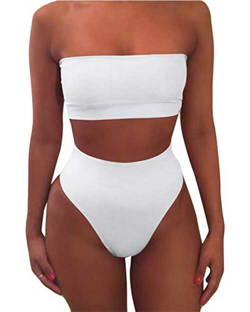 cheap-white-bikinis-bandeau-top-and-high-waisted-bottoms
