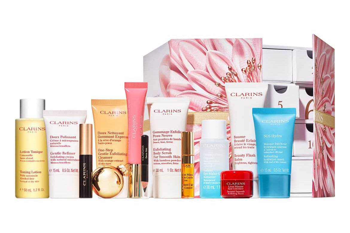 clarins advent calendar 2018