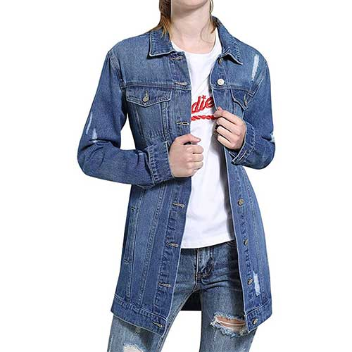 cute jean jackets for women