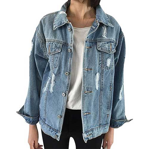 denim jackets amazon fashion