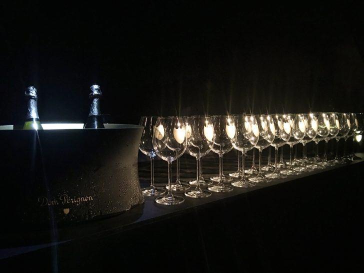 dom pérignon vintage trinity champagne launch irving theatre