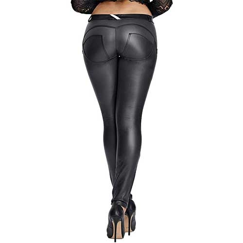 faux leather leggings amazon