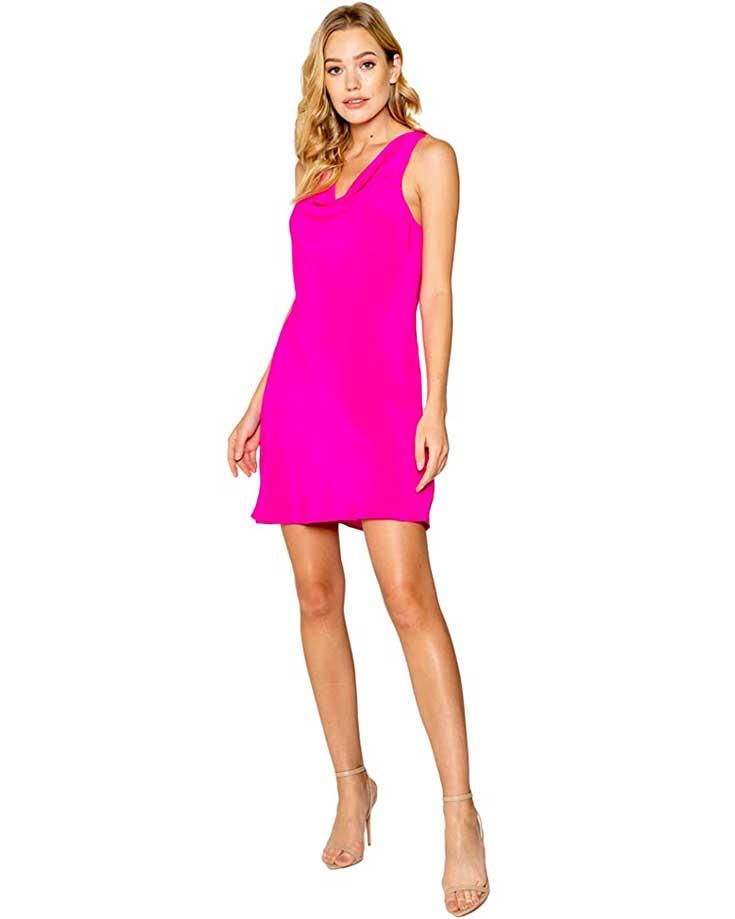 flirty-pink-summer-wedding-guest-dress