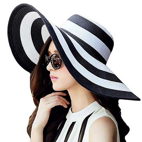 floppy-stripe-sun-hat-for-the-beach