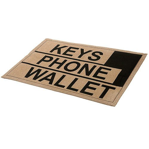 funny white elephant gift door mat