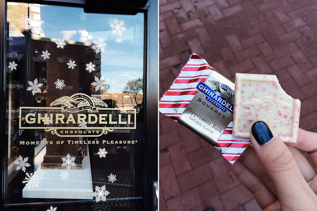 ghirardelli-chocolate-factory-peppermint-snowflake-photo-shershegoes.com2