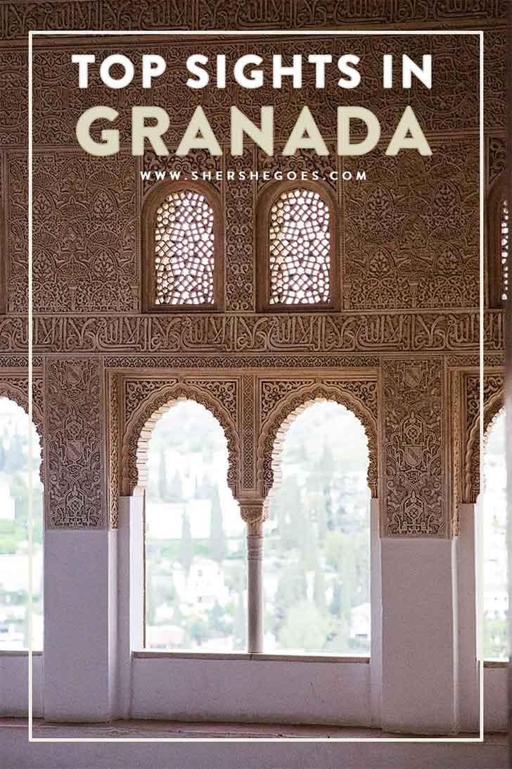 granada spain itinerary