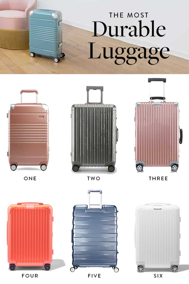 hardside zipperless luggage