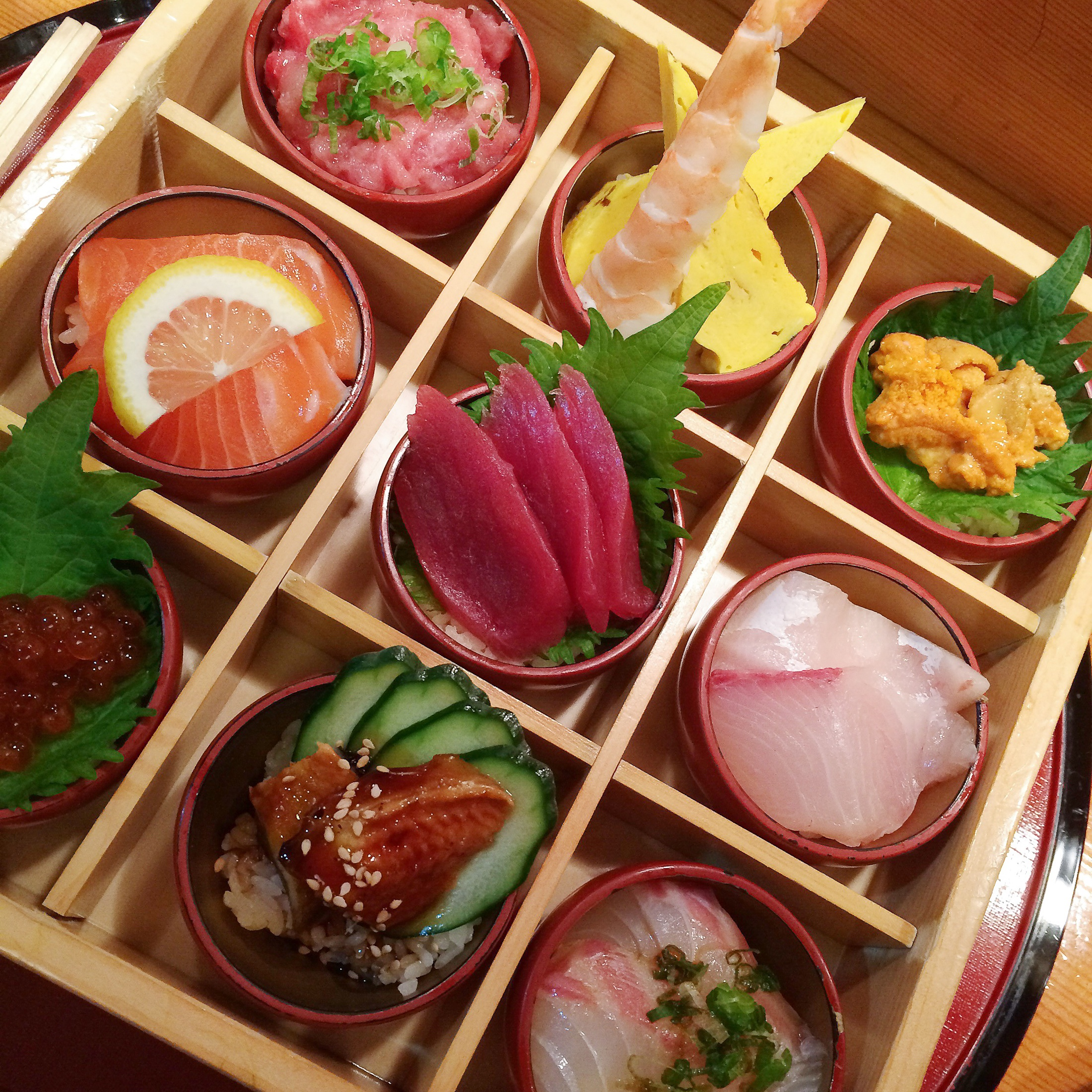 hatsuhana sushi box of dreams nyc midtown japanese food
