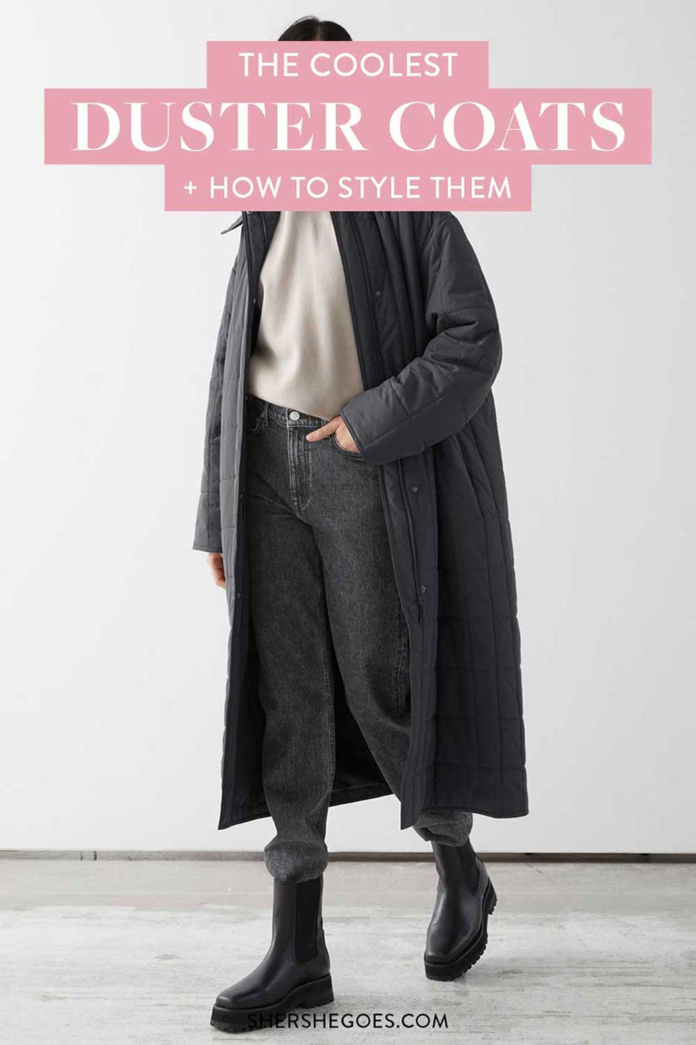 how-to-style-duster-coat
