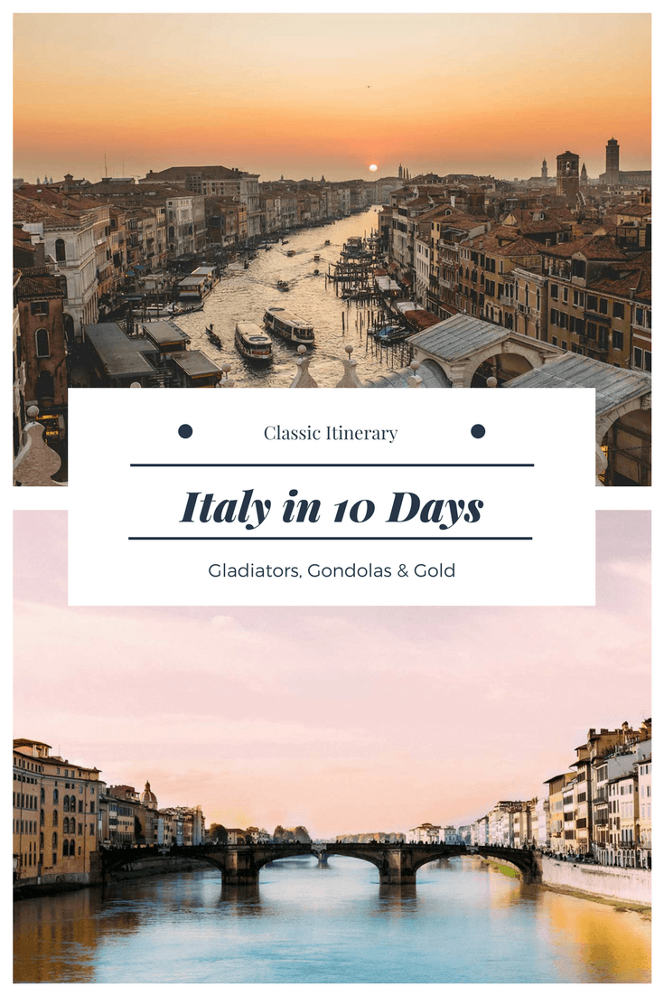 italy in 10 days itinerary