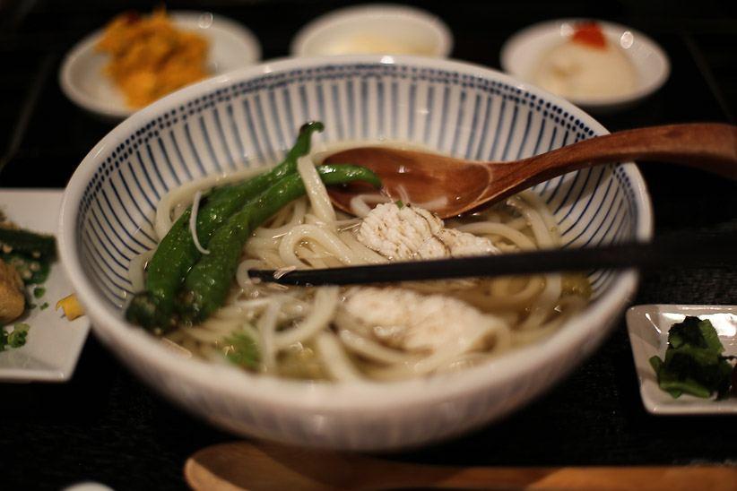 japan tokyo japanese food vegetarian soba noodle soup dinner delicious photo shershegoes.com1 (2)
