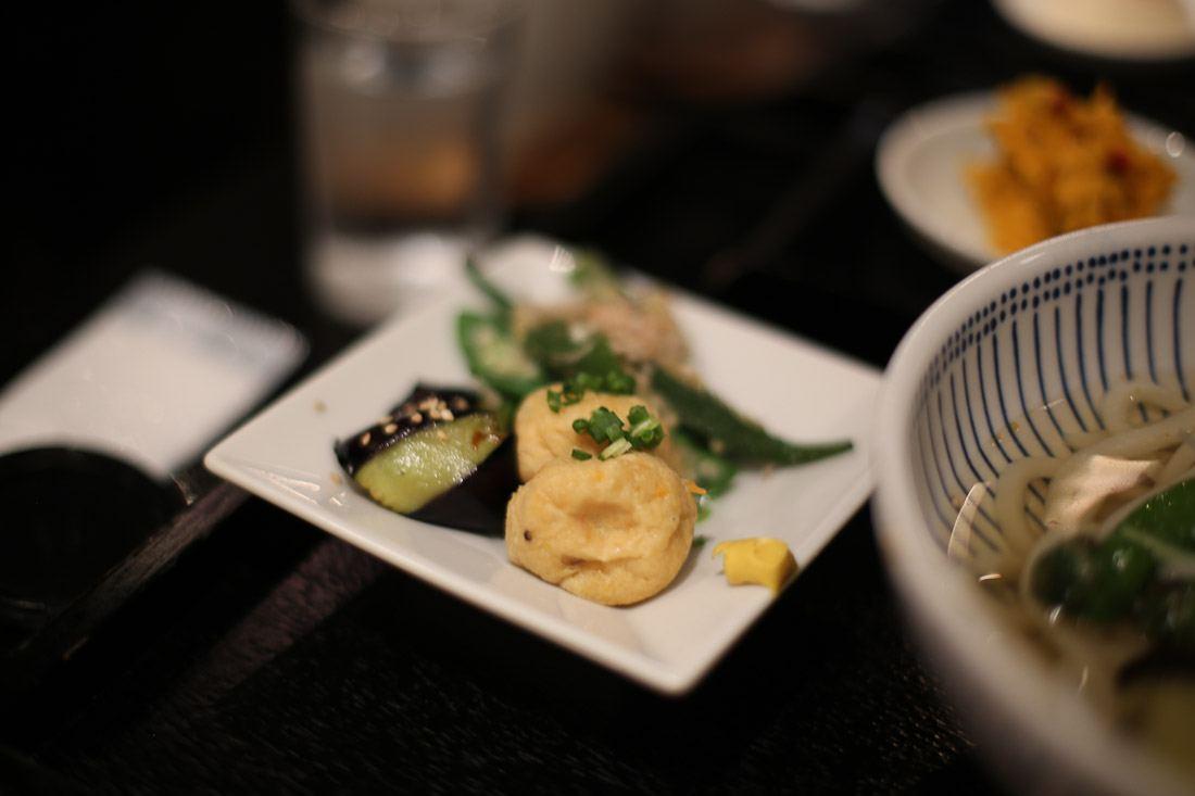 japan tokyo japanese food vegetarian soba noodle soup dinner delicious photo shershegoes.com2