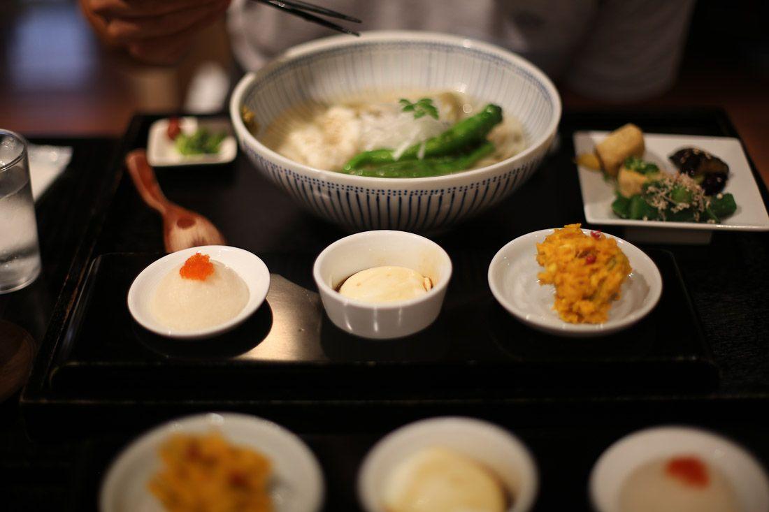 japan tokyo japanese food vegetarian soba noodle soup dinner delicious photo shershegoes.com4