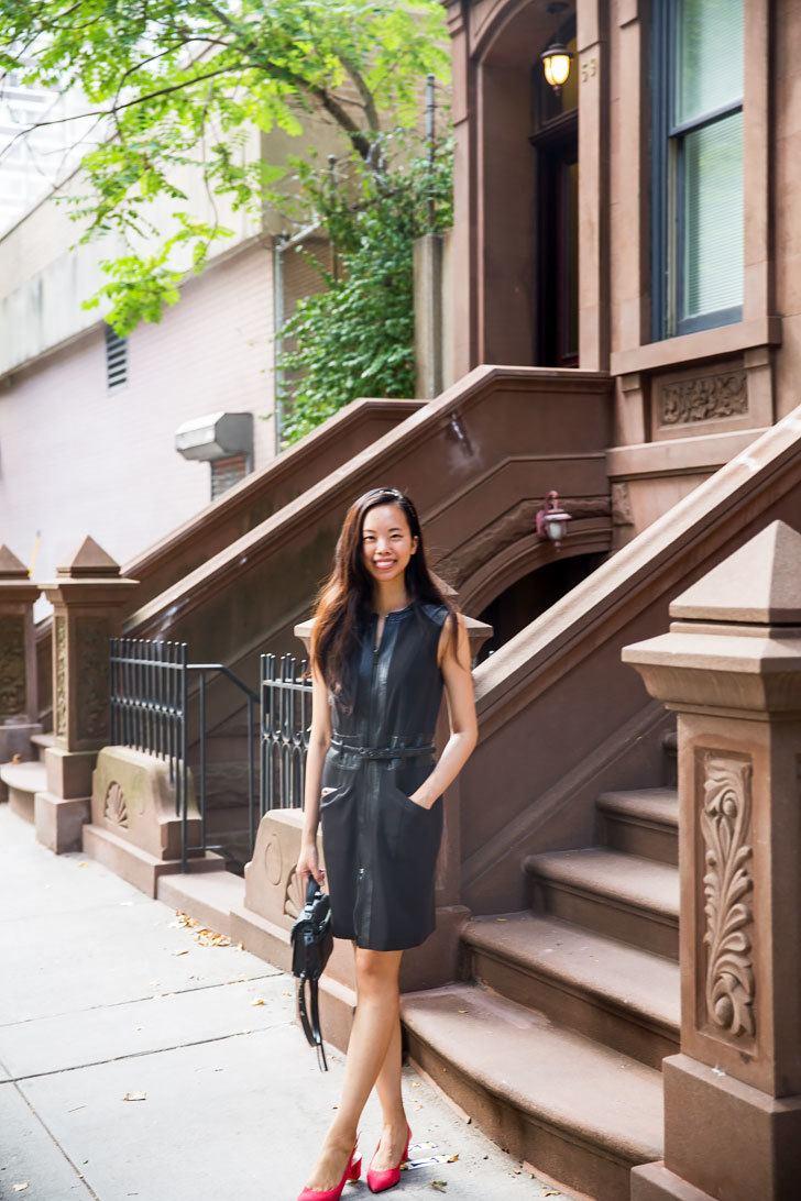 leather dress rebecca minkoff darren messenger satchel