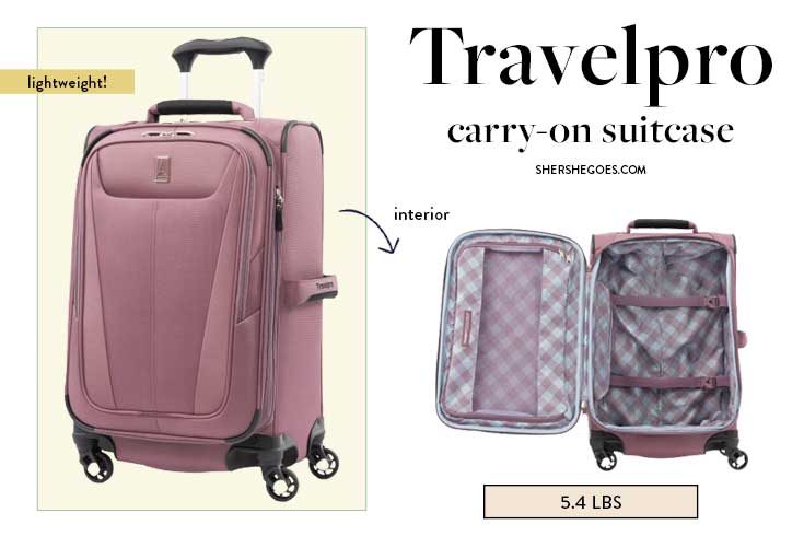 lightweight-soft-shell-cary-on-travelpro-luggage