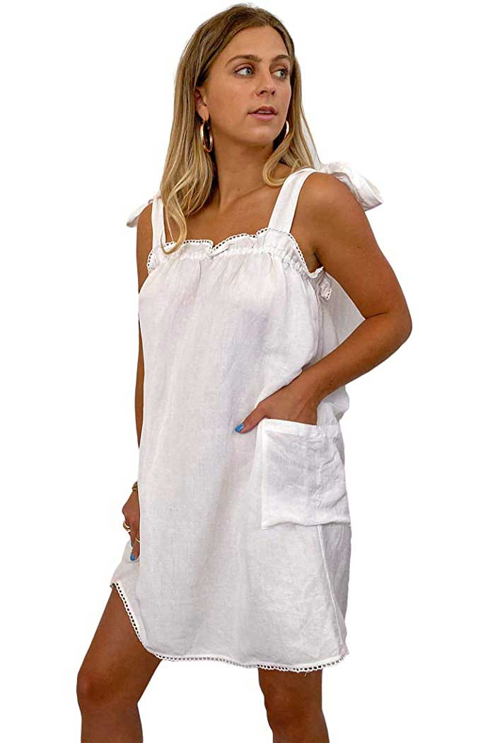 linen-mini-dress-with-tie-sleeves