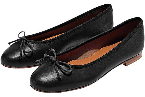margaux-black-ballet-flat-with-bow