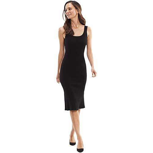 mmlafleur-black-square-neck-midi-dress