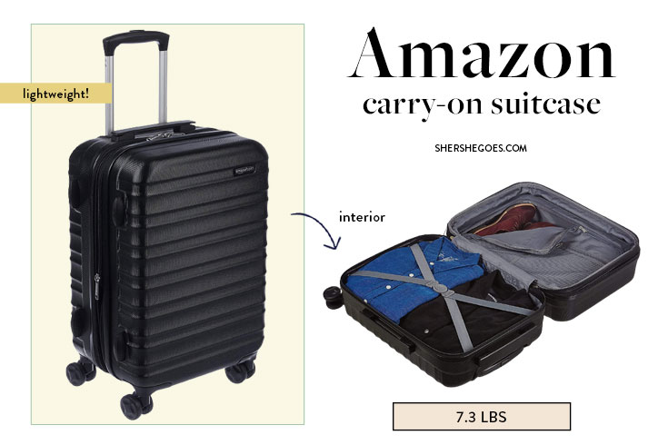 most-affordable-lightweight-suitcase-amazon-basics-carry-on