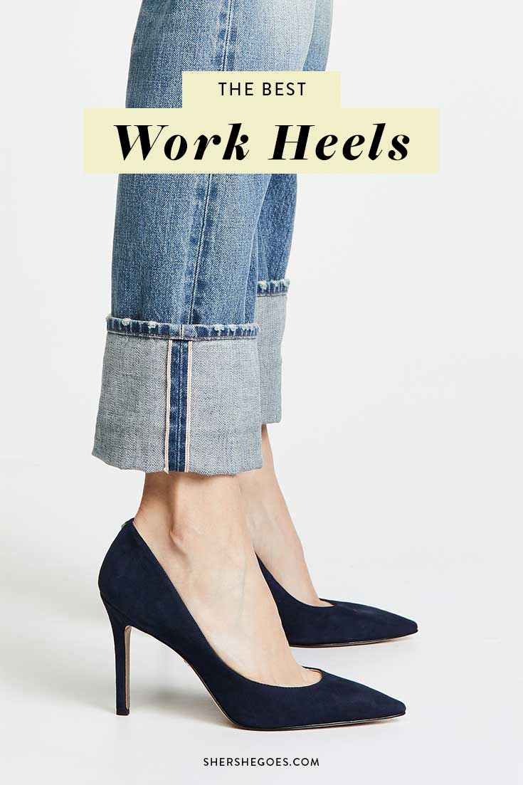 most-comfortable-work-heels