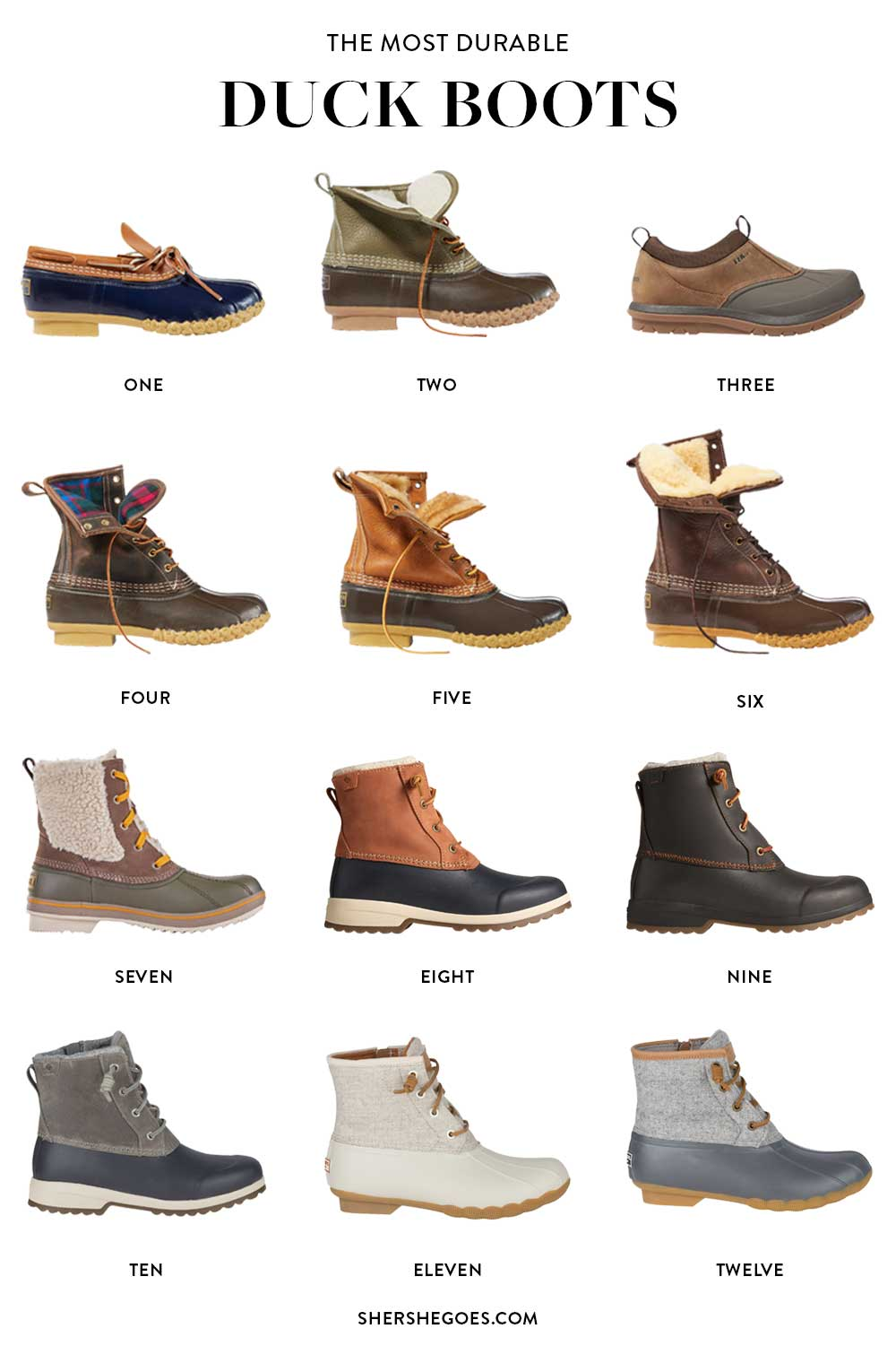 most-durable-duck-boots