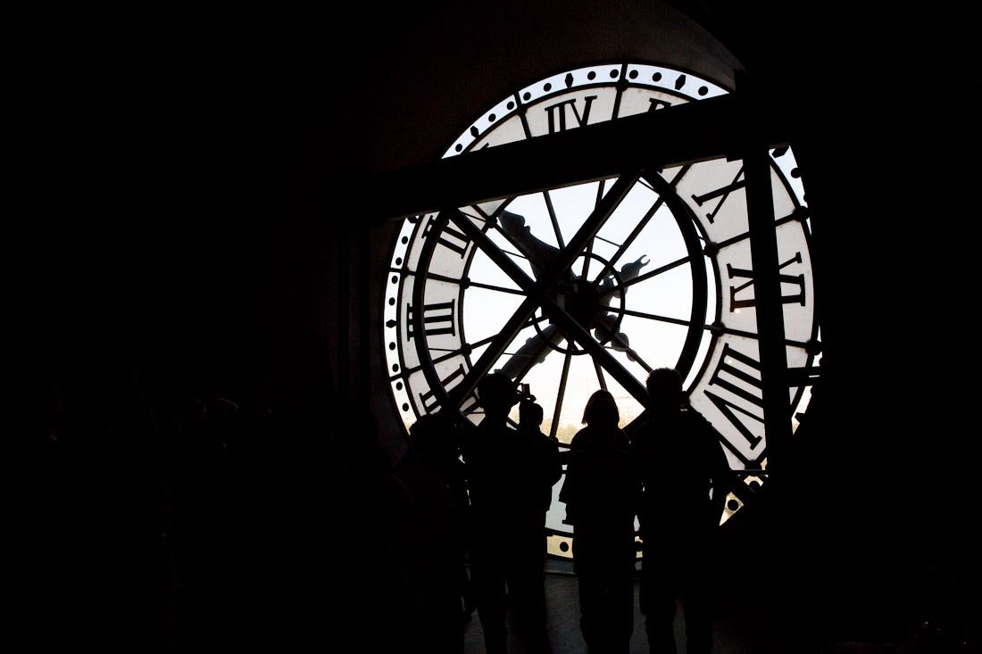 musee d'orsay museum orsay train station art painting clock hands time tower paris photo shershegoes.com (2)