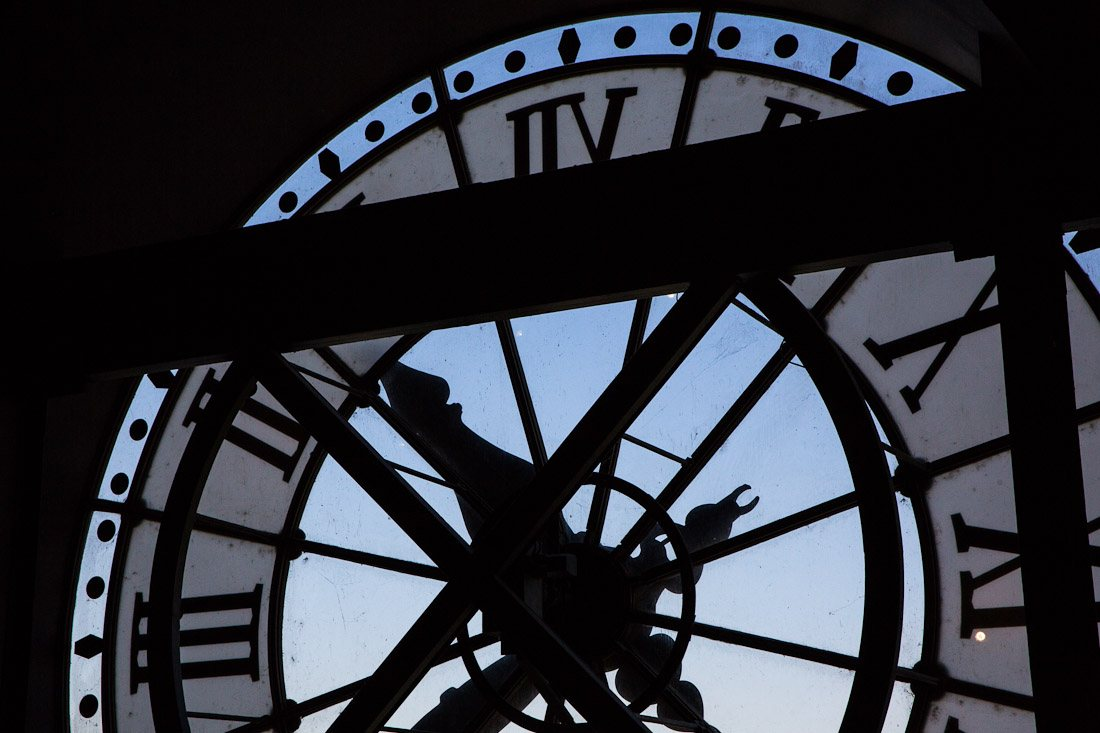 musee d'orsay museum orsay train station art painting clock hands time tower paris photo shershegoes.com (3)