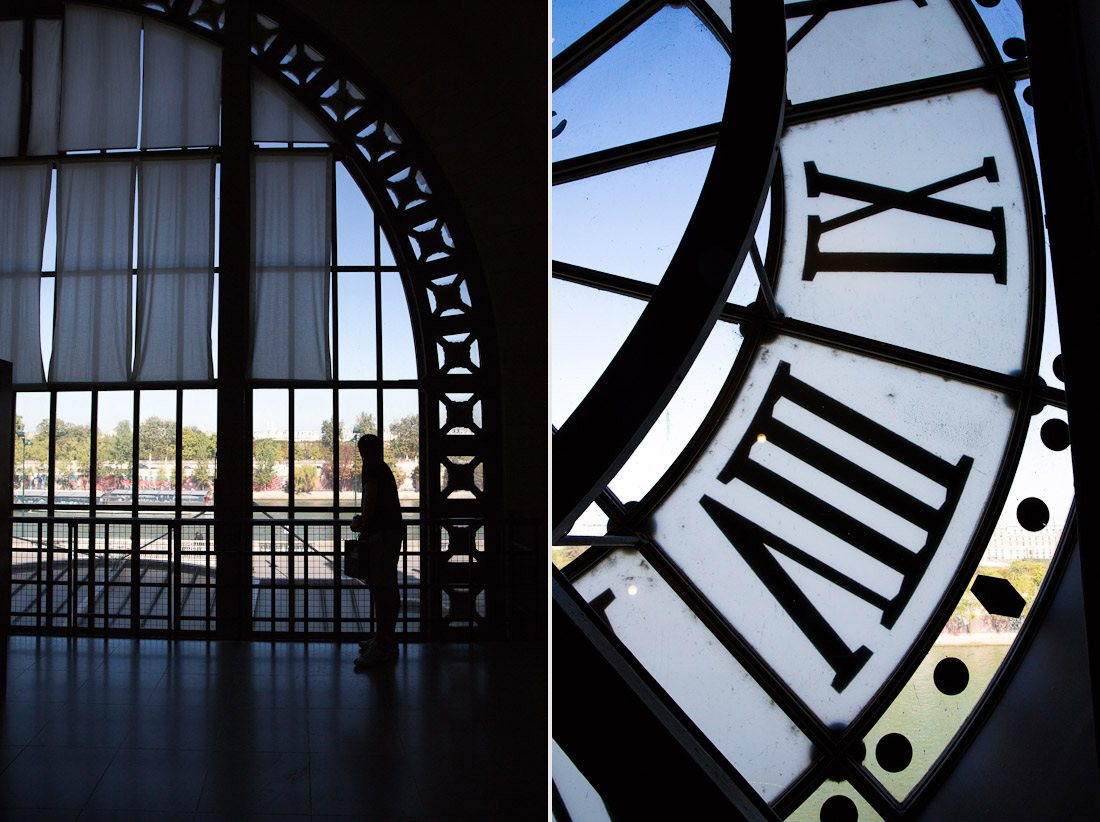 musee d'orsay museum orsay train station art painting clock hands time tower paris photo shershegoes.com (4)