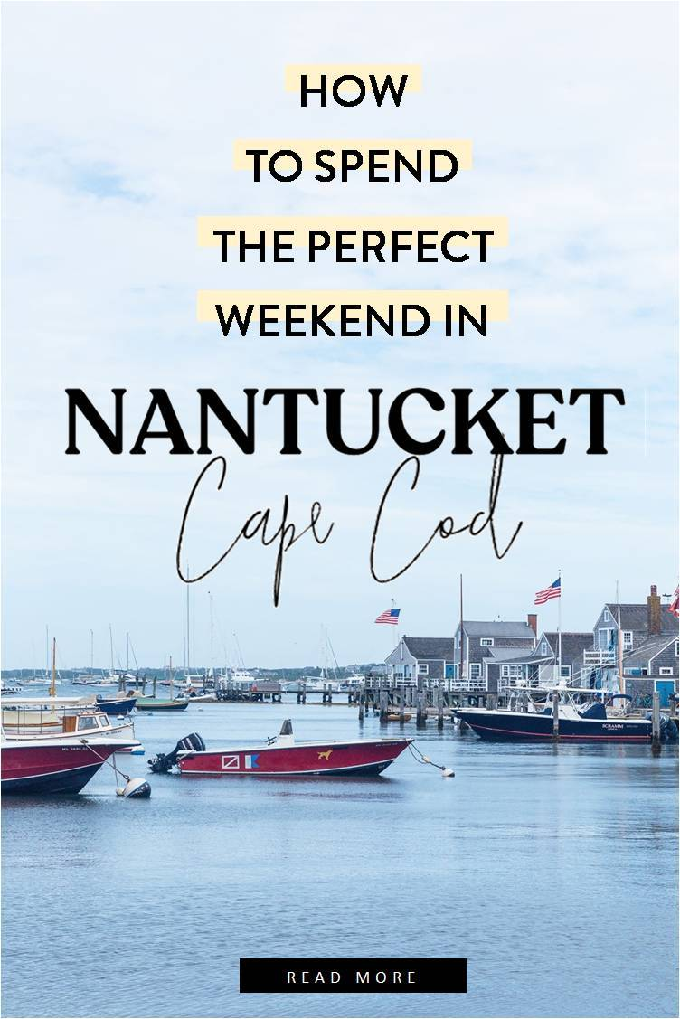 nantucket in 3 days