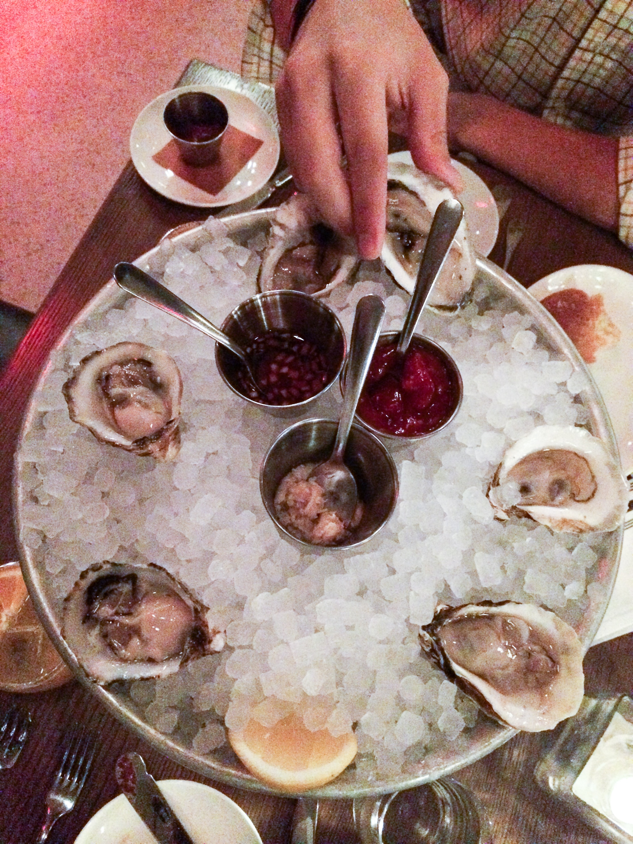 new york nyc the wayfarer seafood oysters scallops restaurant dining food lunch dinner photo shershegoes.com2-2