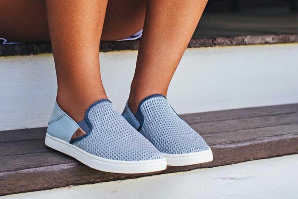 olukai slip on sneakers review
