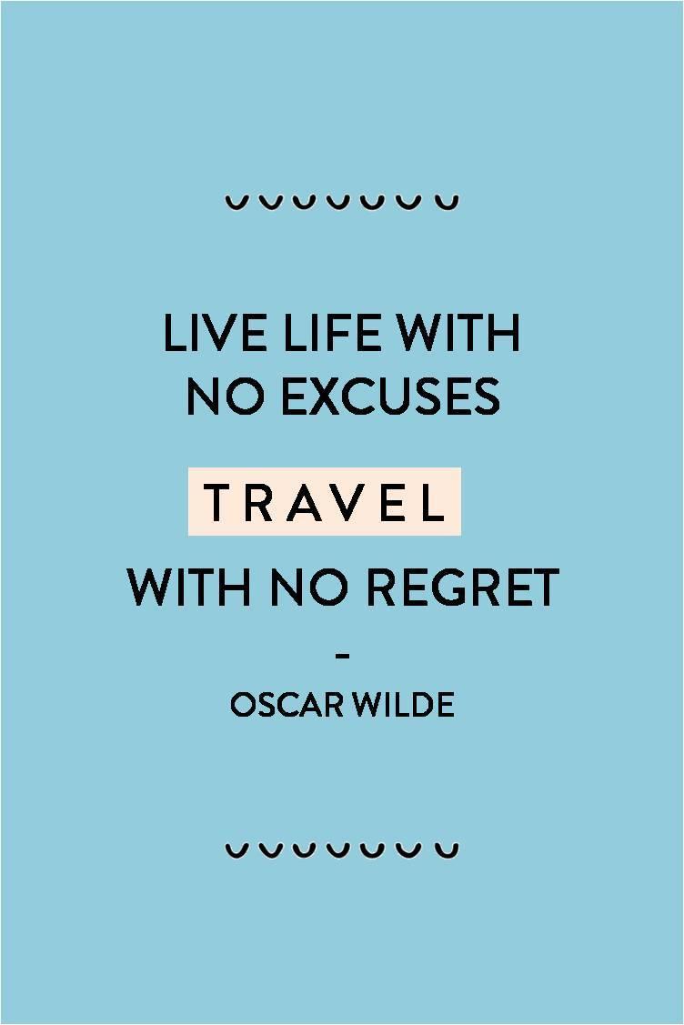 oscar wilde travel quote