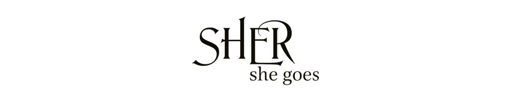 Sher She Goes logo