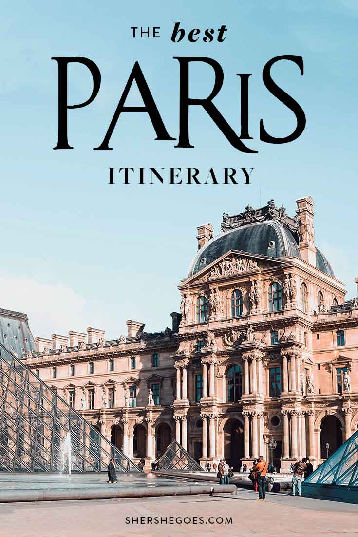 paris-itinerary